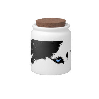 Husky Jar Cool Siberian Husky Candy Jars Gifts