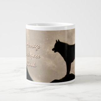 Husky Jumbo Mug Siberian Husky Cup Memorial 20 Oz Large Ceramic Coffee Mug