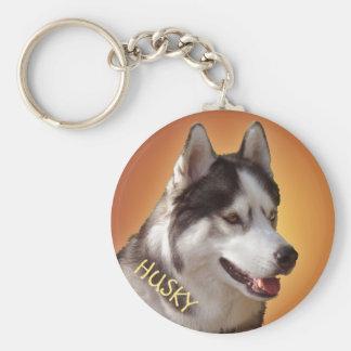 Husky Key Chains Bi-Eye Sled Dog Keychains Custom