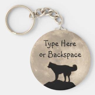 Husky Key Chains Sled Dog Husky Keychains Custom