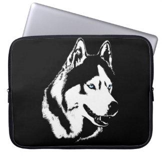 Husky Laptop Case Siberian Husky Malamute Gifts Laptop Sleeve