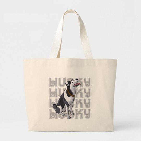 HUSKY LARGE TOTE BAG
