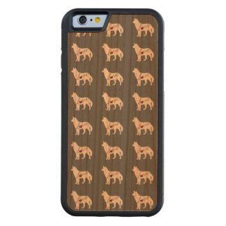 Husky Love Carved Cherry iPhone 6 Bumper Case