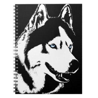 Husky Notebook Siberian Husky Gifts & Books