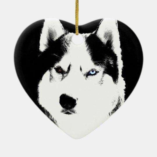 Husky Ornament Personalized Decoration
