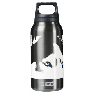 Husky Personalized Husky Dog Bottle