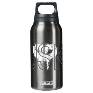 Husky Personalized Husky Dog Bottle 10 Oz Insulated SIGG Thermos Water Bottle