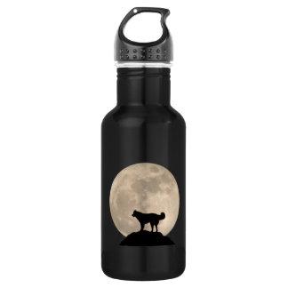 Husky Personalized Husky Dog Bottle 18oz Water Bottle