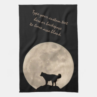 Husky Personalized Sled Dog Lover Tea Towels Gifts