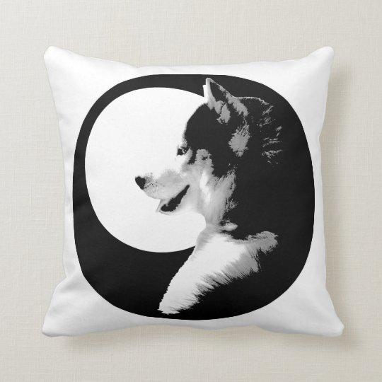 Husky Pillow Siberian Husky Malamute Gifts