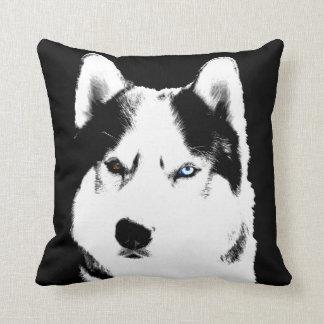 Husky Pillow Siberian Husky Malamute Pillow Gifts