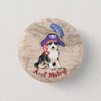 Husky Pirate Button