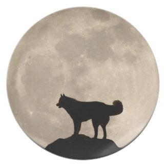 Husky Plate Sled Dog Gifts Husky Malamute Decor