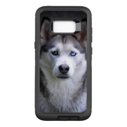 OtterBox Commuter Samsung Galaxy S8+ Case with Siberian Husky Phone Cases design