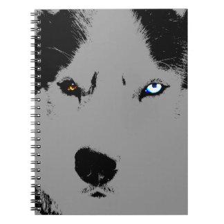 Husky Pup Notebook Siberian Husky Journal Books