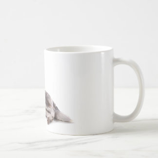 husky puppy coffee mug