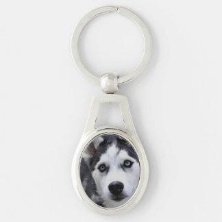 Husky Puppy Key Chains