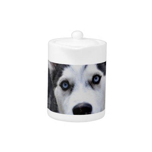Husky Puppy Teapot