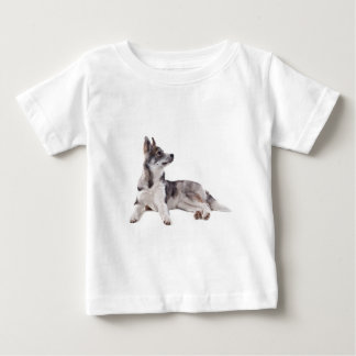 husky puppy tee shirt