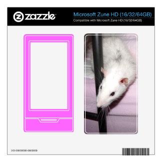 husky rat 1 Microsoft Zune HD Skins For The Zune HD