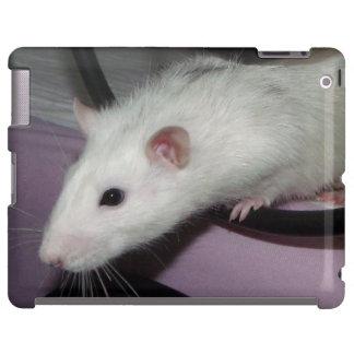 husky rat  iPad case