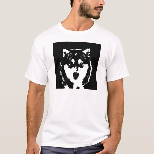 Husky Shirt - Men's Basic T-Shirt