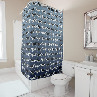 Husky Shower Curtain Husky Malamute Bath Decor