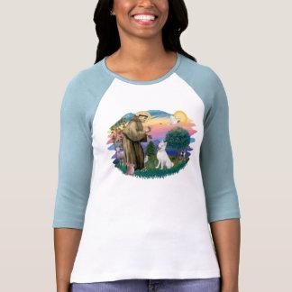 Husky siberiano (blanco) camiseta