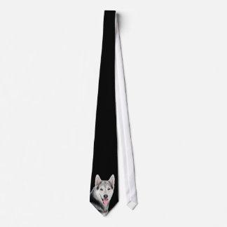 Husky siberiano corbata personalizada