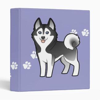 "Husky siberiano del dibujo animado/Malamute de Carpeta 1"""