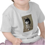 ¡Husky siberiano hermoso! Camiseta