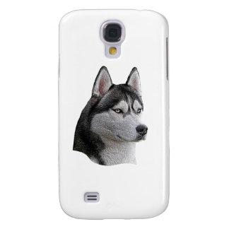 Husky siberiano - imagen estilizada - añada su tex carcasa para galaxy s4