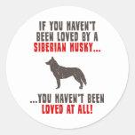 Husky siberiano pegatinas