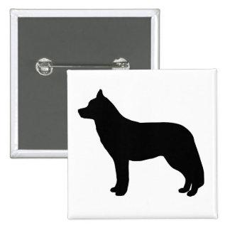 Husky siberiano pin