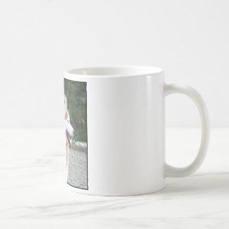 Husky siberiano taza básica blanca