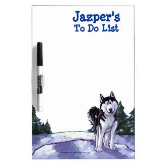 Husky Stationery Dry-Erase Board
