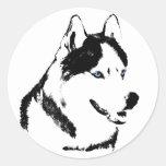 Husky Stickers Siberian Husky Malamute Stickers