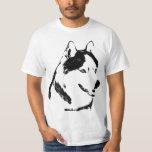 Husky T-shirt Wolf Husky Tee Sled Dog Husky Shirts