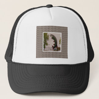 Husky The Muskie Fish  Roadside Show ON Canada Trucker Hat