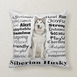 Husky Traits Pillow