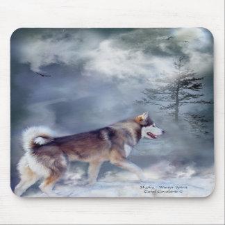 Husky - Winter Spirit Mousepad
