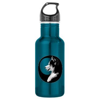 Husky Wolf Dog Husky Dog Bottle 18oz Water Bottle