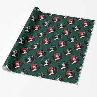 Husky Wrapping Paper Christmas Husky Gift Paper