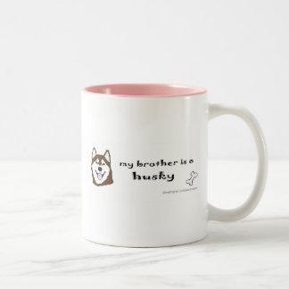 HuskyBrownBrother Two-Tone Coffee Mug