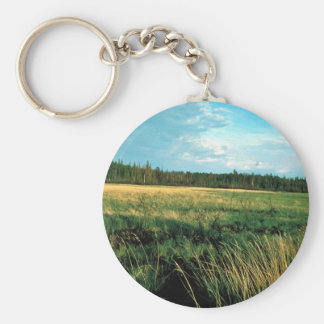 Huslia River Meadow Keychain