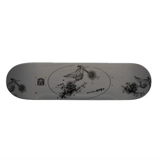 Husqvarna Supermoto Skateboard by fameland serie#1