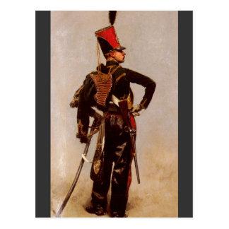 Hussar Postcard