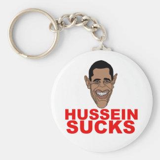 Hussein chupa llavero redondo tipo pin