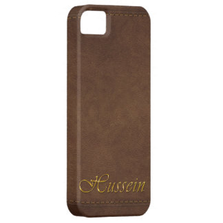 HUSSEIN Leather-look Customised Phone Case