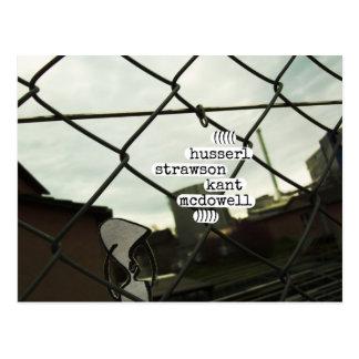 husserl strawson kant mcdowell postcard